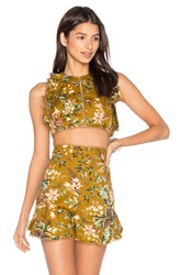 Zimmermann Tropicale Flutter Tank Yellow