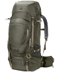 Jack Wolfskin Highland Trail Xt 60 Hiking Backpack From Eastern Mountain Sports Woodland Green