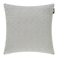 Karl Lagerfeld Quilted K Bed Cushion 45X45cm Dove