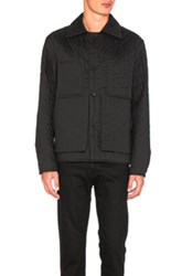 Craig Green Quilted Work Jacket In Black