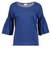 Vila Vifilila Long Sleeved Top Estate Blue