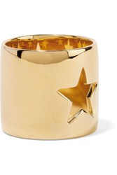Elizabeth And James Polaris Gold Tone Ring 7