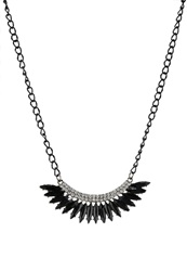 Evenandodd Necklace Black