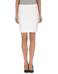 Boy By Band Of Outsiders Knee Length Skirts White