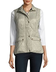 Barbour Sleeveless Quilted Vest Mist