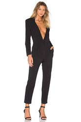 Norma Kamali Tapered Leg Jumpsuit Black