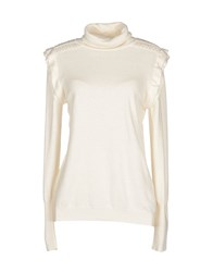 Blugirl Blumarine Knitwear Turtlenecks Women Ivory