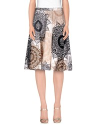 Weekend Max Mara Skirts Knee Length Skirts Women Beige