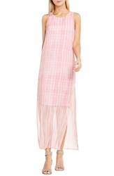 Vince Camuto Women's Graceful Phrases Maxi Dress Rossetto