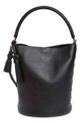 Max Mara Bobag Leather Bucket Bag