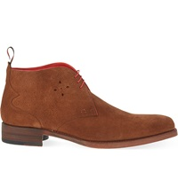 Jeffery West Dexter Chukka Boots Tan
