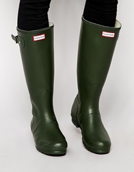 Hunter Original Tall Wellies Green