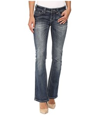 Rock And Roll Cowgirl Rival Bootcut In Medium Vintage W6 8471 Medium Vintage Women's Jeans Blue