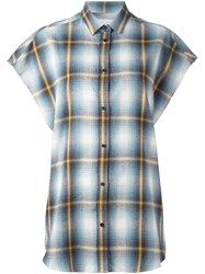 Iro Checked Shortsleeved Shirt Multicolour
