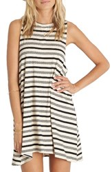 Billabong Women's By And By Stripe Swing Dress