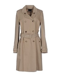 Fabrizio Lenzi Coats And Jackets Full Length Jackets Women Beige