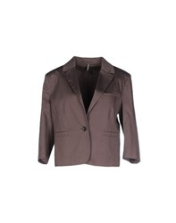 Naf Naf Suits And Jackets Blazers Women Light Brown