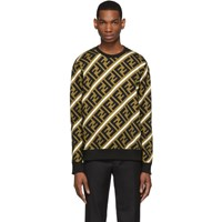Brown And Black 'Forever Fendi' Banner Sweatshirt