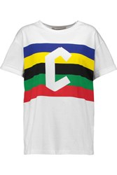 Etre Cecile Cflag Printed Cotton T Shirt White