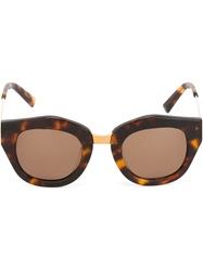 Spektre 'Mon Amour' Sunglasses Brown