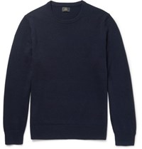 J.Crew Slim Fit Cashmere Sweater Navy