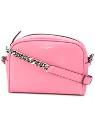 Philippe Model Small Shoulder Bag Pink And Purple