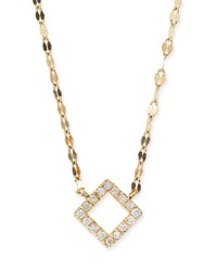 Lana Diamond Pendant Necklace Yellow Gold