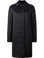 Maison Martin Margiela Stitch Detail Coat Black