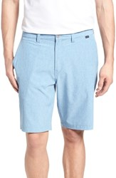 Travis Mathew 'Palladium' Performance Stretch Heathered Golf Shorts