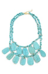 Panacea Women's Turquoise Statement Necklace