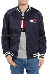 Tommy Hilfiger Men's Tjm Satin Bomber Jacket