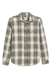 Tailor Vintage Men's Heavy Twill Reversible Shirt Jacket Apres Plaid