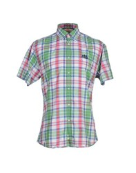 Sundek Shirts Shirts Men Green
