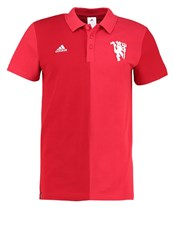 Adidas Performance Polo Shirt Power Red Red