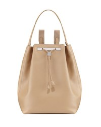 The Row Backpack 11 Leather Bag Beige