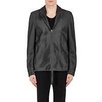 Hood By Air Men's Layered Zip Front Jacket Black
