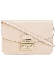 Furla Metropolis Shoulder Bag Nude Neutrals