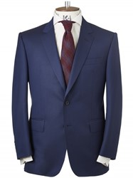 Chester Barrie Navy Herringbone Two Piece Suit