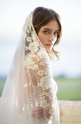 Brides And Hairpins Florentina Embroidered Cathedral Veil