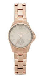 Dkny Eldridge Watch Rose Gold