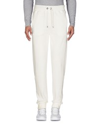 Franklin And Marshall Trousers Casual Trousers White