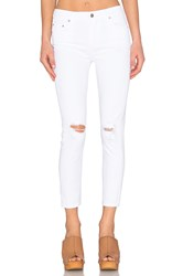 Citizens Of Humanity Rocket High Rise Crop Skinny Distressed Milos