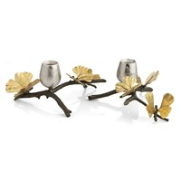 Michael Aram Butterfly Ginkgo Candle Holders
