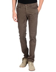 Maison Clochard Casual Pants Dark Brown