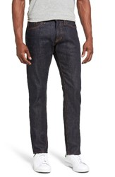 Jean Shop Men's Big And Tall Jim Slim Fit Raw Selvedge Jeans
