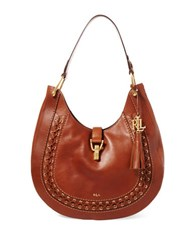 Lauren Ralph Lauren Ashfield Abree Hobo Bag Field Brown