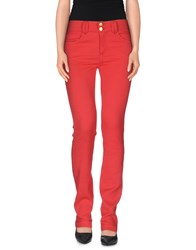Blumarine Trousers Casual Trousers Women Red