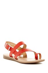 Franco Sarto Guster Strappy Sandal Red
