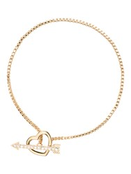 Kate Spade Love List Heart And Arrow Toggle Bracelet