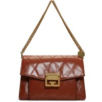 Givenchy Red Quilted Small Gv3 Bag